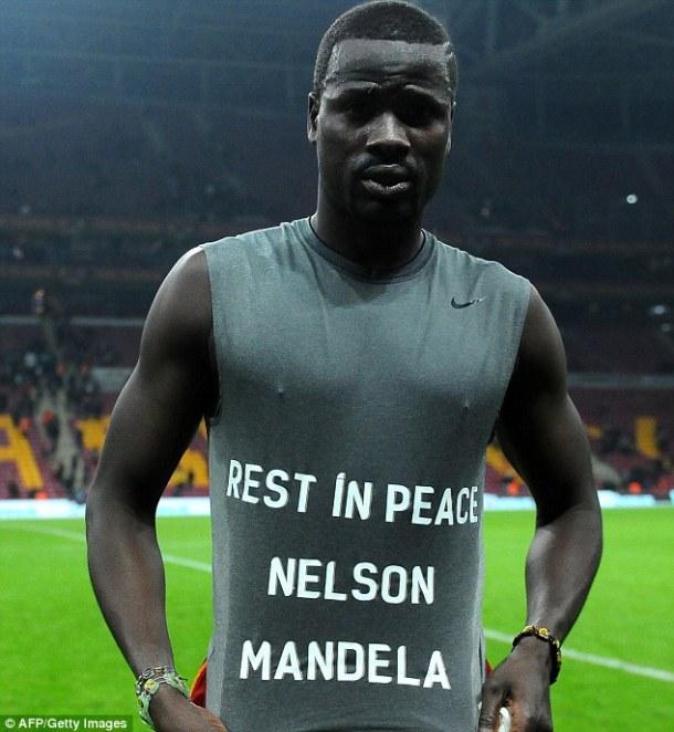 Eboue Rest In Peace Nelson Mandela